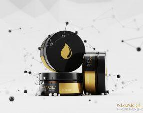 máscara para cabelo Nanoil